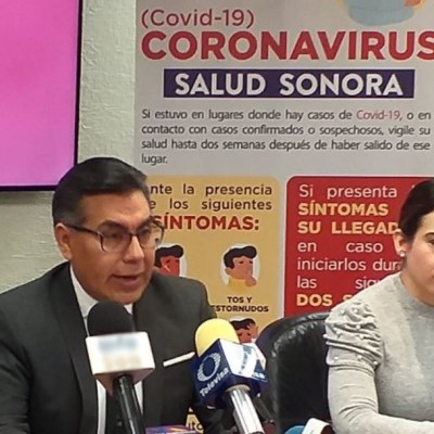 Sonora monitorea a 14 personas por posible coronavirus