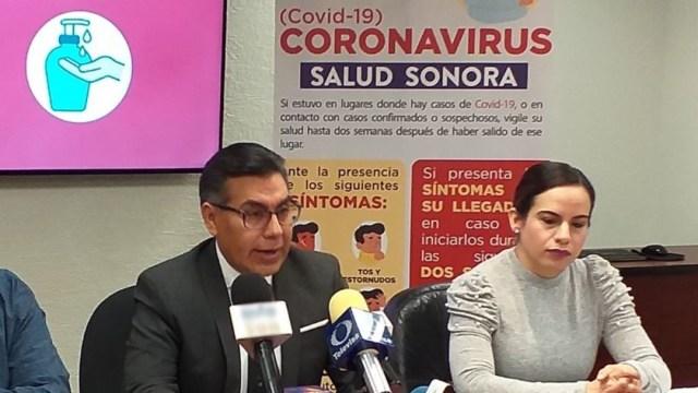 Foto: Gerardo Álvarez Hernández, vocero del gobierno del estado de Sonora, 13 marzo 2020