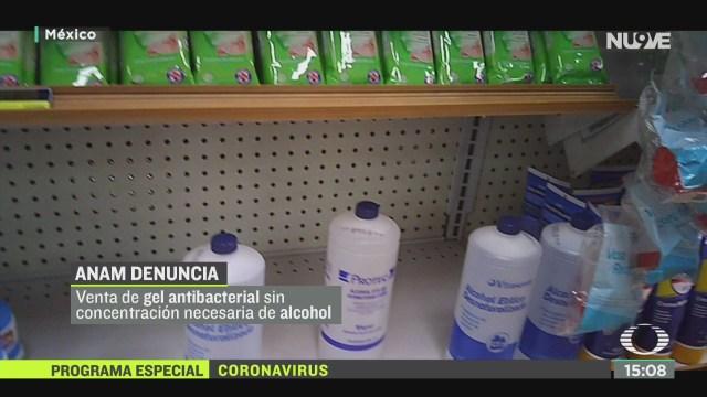 FOTO: denuncian abusos en precios de gel antibacterial