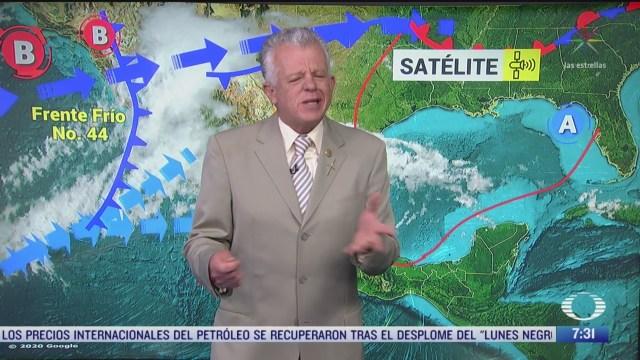 despierta con tiempo lluvias fuertes en noroeste de mexico