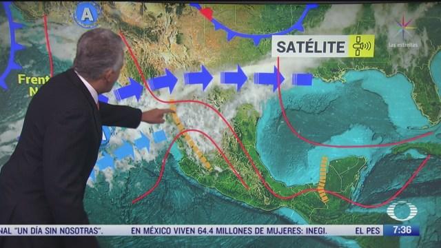 despierta con tiempo preven lluvias fuertes en el noroeste de mexico
