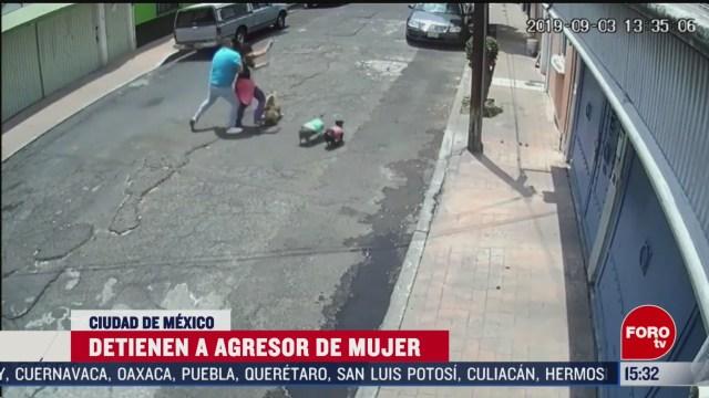 FOTO: detienen a agresor de mujer que paseaba a su perro en cdmx