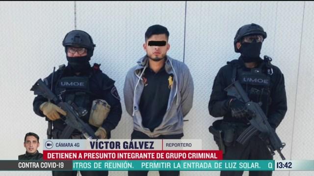 FOTO: detienen a presunto lider criminal en cdmx