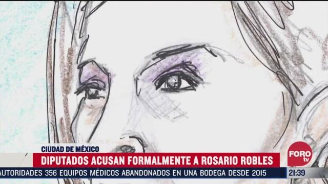 Foto: Diputados Acusan Formalmente Rosario Robles Estafa Maestra 19 Marzo 2020
