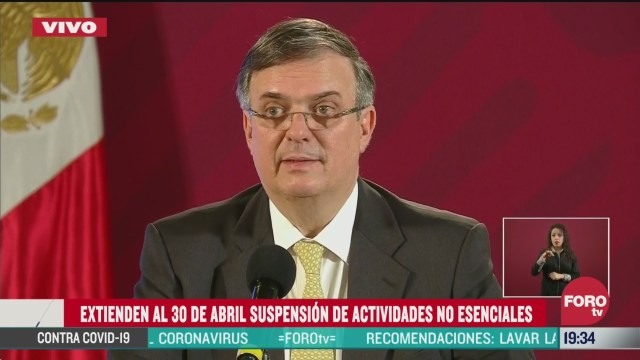 Foto: Coronavirus Emergencia Sanitaria México Medidas Gobierno Federal Covid19 30 Marzo 2020