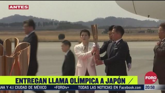 Foto: Video Antorcha Olímpica Llega Japón 19 Marzo 2020