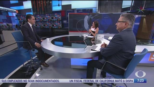 entrevista con arturo herrera secretario de hacienda por caida del peso