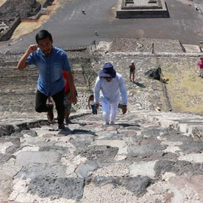Por coronavirus, Teotihuacán luce desolado en el equinoccio de primavera