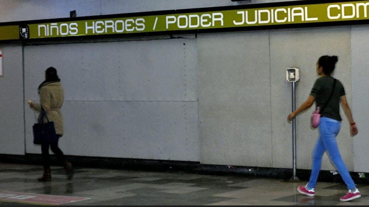 Estación Niños Héroes del Metro. (STC-Metro)