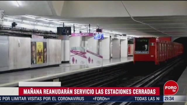 FOTO: 16 marzo 2020, este martes estaciones cerradas del metro cdmx reanudan servicio