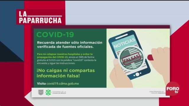 Foto: Coronavirus Fase 2 México Noticias Falsas 25 Marzo 2020