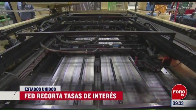 fed recorta tasa de interes de referencia