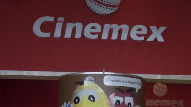 Foto: El logo de Cinemex en una de sus salas en Ciudad de México. Cuartoscuro
