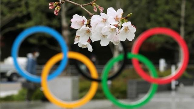 Foto: Los aros olímpico de Tokio 2020. Getty Images