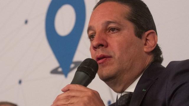 Foto: Francisco Domínguez Servién, gobernador de Querétaro. Cuartoscuro/Archivo