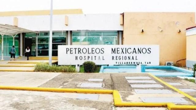 Foto: Hospital Regional de Villahermosa, Tabasco.