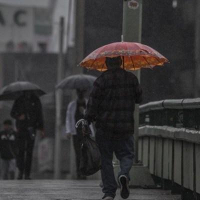 frente frío provocará lluvias en México