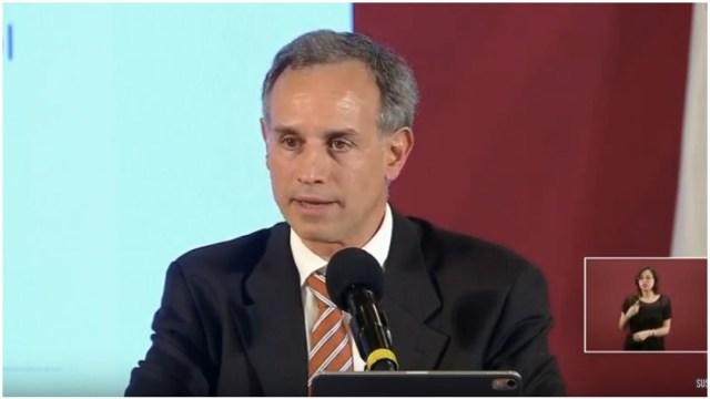 Foto: Hugo López-Gatell anunció cuáles son las medidas consideradas como esenciales, 30 de marzo de 2020 (SSa)