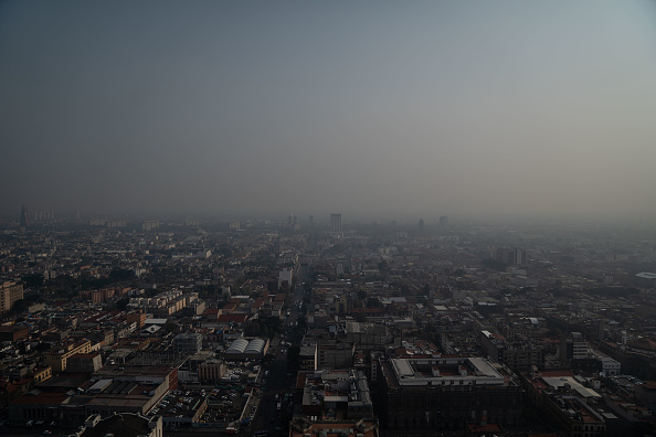 Foto: CDMX registra mala calidad del aire; recomiendan no realizar actividades al aire libre, 27 de marzo de 2020, (Getty Images, archivo)