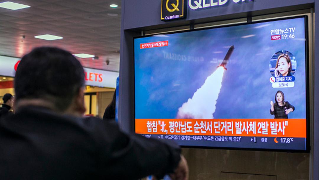 Foto: Corea del Norte lanza 3 proyectiles no identificados, 08 de marzo de 2020, (Getty Images, archivo)