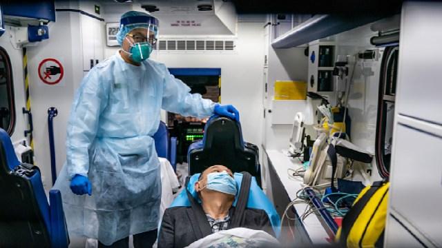 Foto: Muertes por coronavirus ascienden a 23 mil 300 personas y más 510 mil casos confirmados, 27 de marzo de 2020, (Getty Images, archivo)