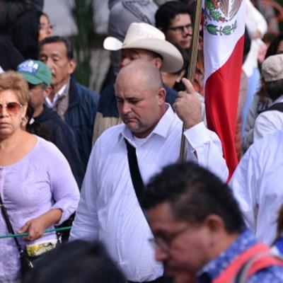 Familia LeBarón se une a marcha por justicia en Puebla