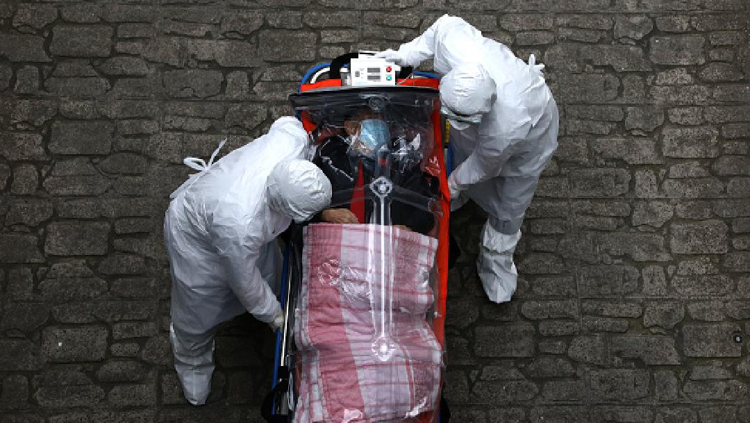 Foto: Coronavirus infecta a 413 mil personas en el mundo y mata a más de 18 mil, 22 de marzo de 2020, (Getty Images, archivo)