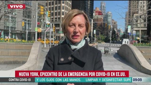 habilitan hospitales en nueva york ante incremento de casos por coronavirus