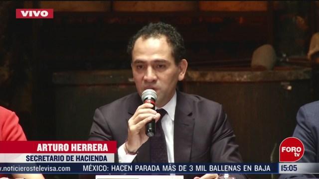 FOTO: hacienda informa sobre las acciones en mexico por el impacto del coronavirus