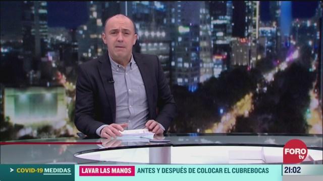 Foto: Hora 21 Julio Patán Programa Completo 24 Marzo 2020