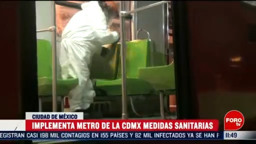 implementa metro cdmx medidas sanitarias por coronavirus