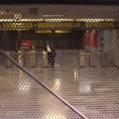 Por tiempo indefinido, cierre en tres estaciones de Línea 5 Metro CDMX tras fuga de combustible