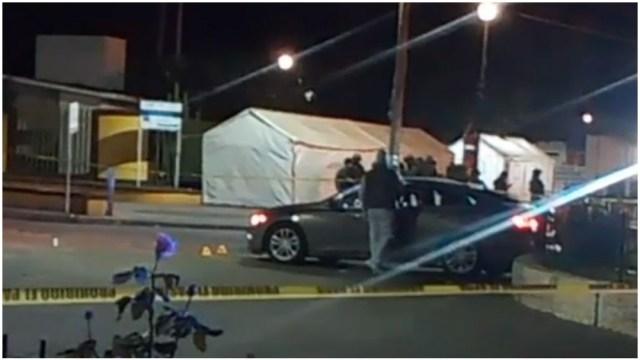Foto: Varias personas fueron asesinadas en las últimas horas en Celaya, 1 de marzo de 2020 (Foro TV)