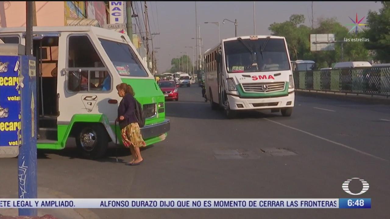 instalan camaras de videovigilancia para aumentar seguridad en microbuses