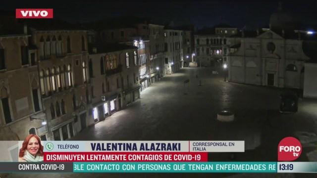 FOTO: 28 marzo 2020, italia registra una reduccion en los contagios con respecto al sabado 28 de marzo