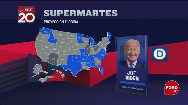 FOTO: joe biden gana florida e illinois