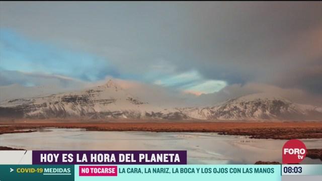 FOTO: 28 Marzo 2020, la hora del planeta se celebra este sabado 28 de marzo
