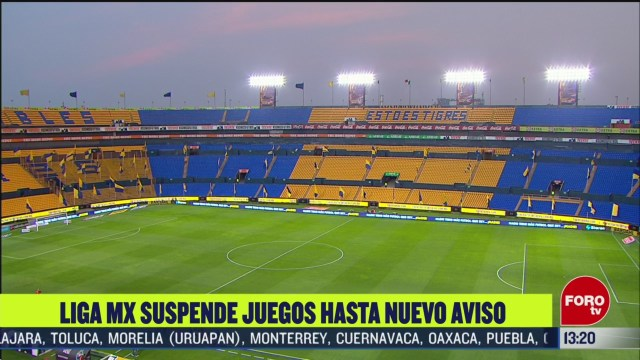 FOTO: 15 marzo 2020, liga mx suspende juegos hasta nuevo aviso