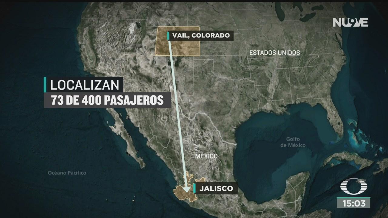 FOTO: localizan a 73 pasajeros que llegaron a jalisco ante riesgo de coronavirus