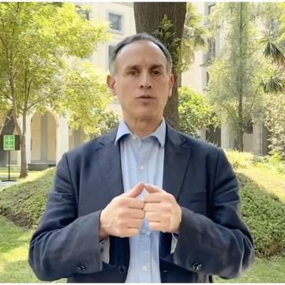 Hugo López-Gatell reitera no salir de casa; solo en situación de emergencia