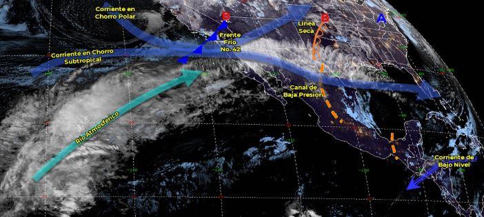 Imagen de fenómenos meteorológicos significativos de las 06:00 horas, 1 marzo 2020