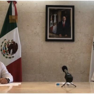 Foto: Héctor Astudillo confirma primera muerte por coronavirus en Guerrero, 29 de marzo de 2020 (Facebooj Héctor Astudillo)
