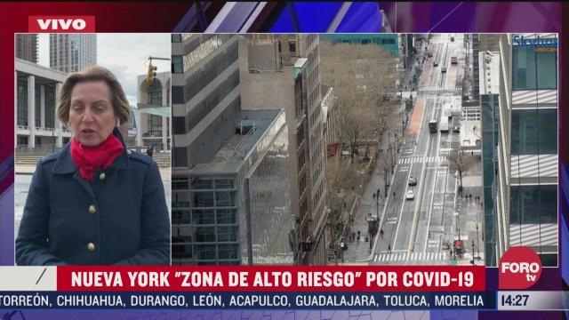 FOTO: nueva york suma mas de 5 mil casos de coronavirus