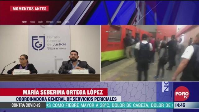 FOTO: omisiones de operacion del conductor y del regulador causaron accidente del metro tacubaya