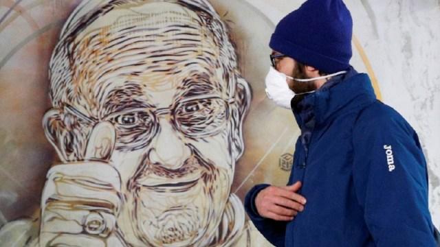 El papa Francisco celebrará Semana Santa sin fieles a causa del coronavirus