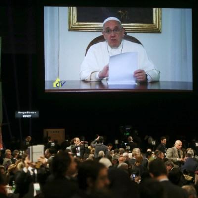 Papa celebrará rezo dominical y audiencia por video debido al coronavirus