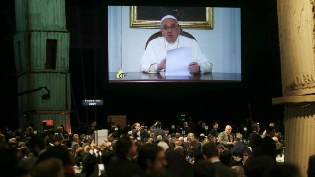 Foto: El papa Francisco celebrará la oración dominical y la audiencia general del miércoles por vídeo debido al coronavirus, 7 marzo 2020