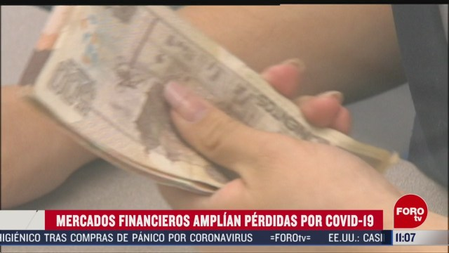 FOTO: 16 marzo 2020, peso mexicano se deprecia 4 ante temores por coronavirus