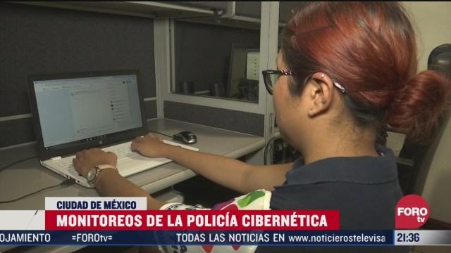 Foto: Saqueos Policía Cibernética Monitorea Promotores Cdmx 25 Marzo 2020
