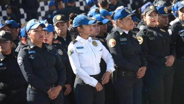 Foto: Policías de la SSC resguardarán el arribo de contingentes feministas este domingo con motivo del Día Internacional de la Mujer